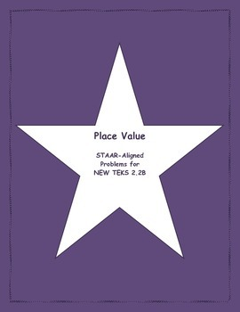 2nd STAAR Prep Place Value New TEKS 2.2B