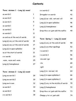 2nd grade / Second grade Spelling Worksheets (78 worksheets)