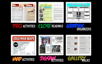 Second Semester U.S. History Semester Activity Bundle (ACTIVITIES ONLY)