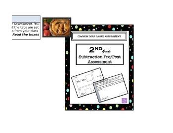 2nd Subtraction Data Analysis Spreadsheet