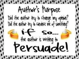 2nd and 3rd Grade Author's Purpose PowerPoint