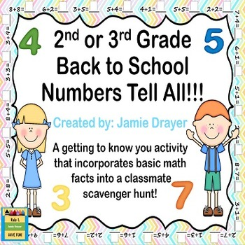 Back To School Numbers Tell All: Basic Arithmetic Meet and Greet