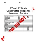2nd and 3rd Grade CCSS Constructed Response/Multiple Response Assessment Items
