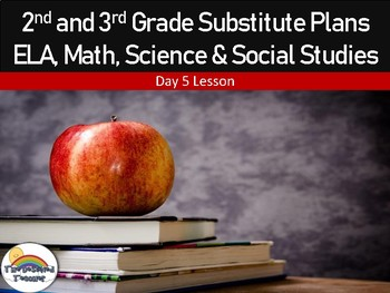 2nd and 3rd Grade Emergency Substitute Plans Day 5