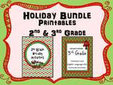 2nd and 3rd Grade Holiday Bundle