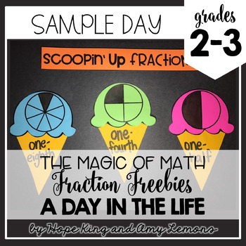 Free math lesson plans bundled resources lesson plans teachers 2nd and 3rd grade magic of math fraction sample day fandeluxe Images