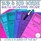 2nd and 3rd Grade Math Morning Work