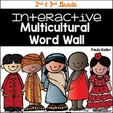 Word Wall:  Dolch 2nd and 3rd Grade Multicultural