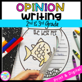 Opinion Writing Interactive Journal- W.2.1/ W.3.1