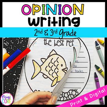 Opinion Writing Interactive Journal- W.2.1/ W.3.1