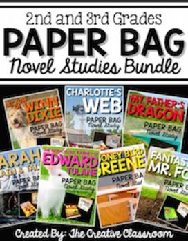 Paper Bag Novel Study Bundle