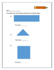 2nd and 3rd grade measurement sheets