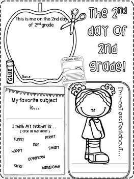 2nd day of 2nd grade
