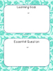 """2nd gr MATH (EDITABLE)- Marzano """"I can"""" Statements and Ess"""