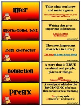 2nd grade - Academic Vocabulary for Language Arts