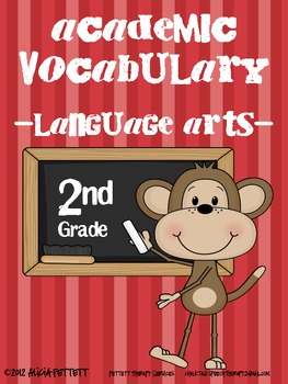 2nd grade - Academic Vocabulary for Language Arts