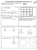 2nd grade April Math class/homework. Spiraling review & constructed response