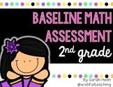 Baseline Math Assessment: 2nd Grade