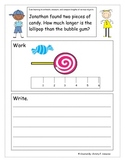 CCSS Math Journals for 2nd grade Measuring and Comparing T