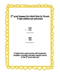2nd grade Common Core Parent Resource-3 digit addition/sub