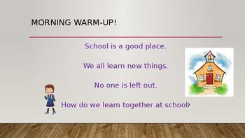 2nd grade Common core reading lesson unit 1