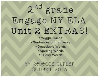 2nd grade Engage NY ELA Unit 2 Extras