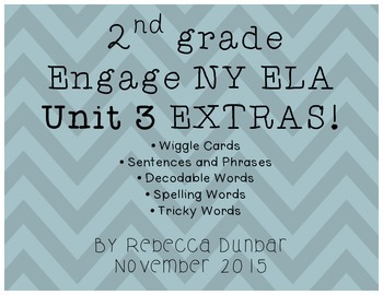 2nd grade Engage NY ELA Unit 3 Extras