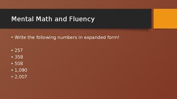 2nd grade Everyday Math Unit 9 9-6 Powerpoint 9.6 second grade