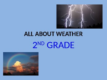 weather exc ell vocabulary powerpoint by vivian s esl land tpt
