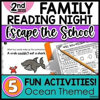Family Reading Night 2nd Grade