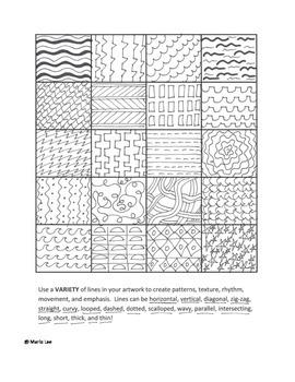 2nd grade Art Sub Plan: Folk Art Landscapes