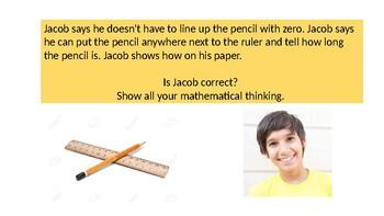 """2nd grade Go Math Exemplar Chapter 8 """" The Ruler Rules"""""""