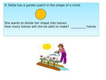 2nd grade  Math Performance Task  Critical area 4 Community Garden