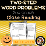 2nd grade Halloween Two Step Word Problems