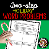 2nd grade Christmas Two Step Word Problems