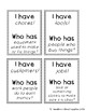 "2nd grade ""I have Who has"" vocab game (Reading Wonders- Unit 1 Week 5)"
