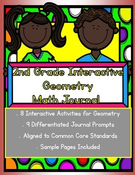 2nd grade Interactive Math Journal for Geometry