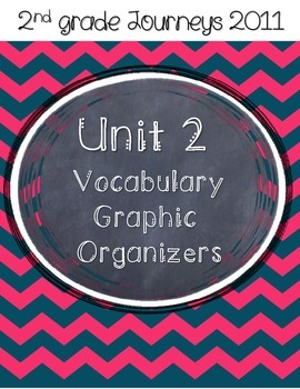 2nd grade Journeys Unit 2 Vocabulary Graphic Organizers