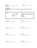 2nd grade Math, Aligns to NYS Math Module 1, lesson 8