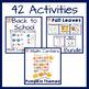 2nd grade Math Centers- Fall Math Centers