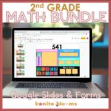 2nd grade Math Distance Learning | Google Slides | Google Forms