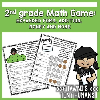 2nd grade Math Game - Common Core Aligned