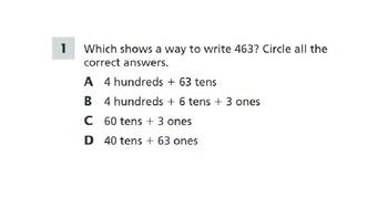 2nd grade Math TN Ready Daily Prep.