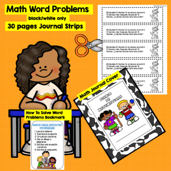 NOVEMBER - 2nd grade Math Word Problems IN SPANISH - CCSS 2.0A.1