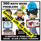 OCTOBER - 2nd grade Math Word Problems IN SPANISH - CCSS 2.0A.1