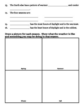 grade 2 science test pdf