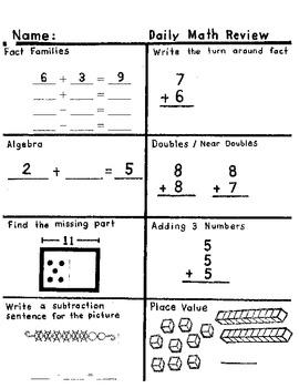 2nd grade Quick Check #2