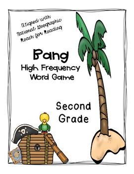 2nd grade REACH for READING HFW Bang!