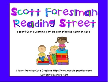 2nd grade- Reading Street- 2011- Common Core-- Unit 5 Target Skills