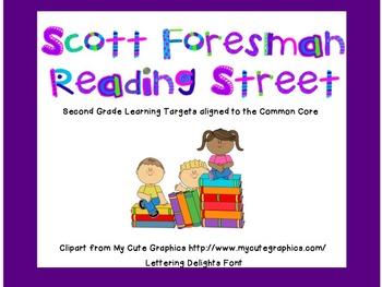 2nd grade- Reading Street- 2011- Common Core-- Unit 6 Target Skills